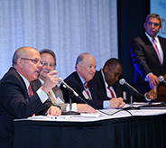 Panel discussion at the 2014 TDL Summit.